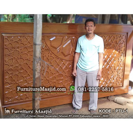 Kusen Pintu Masjid Jati Minimalis Modern Furniture Masjid