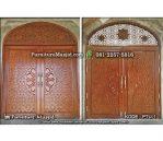 Kusen Pintu Masjid Jati Minimalis Modern