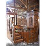 Mimbar Masjid Mewah Ukir Jepara