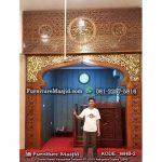 Pembuatan dan Pemasangan Mihrab Masjid
