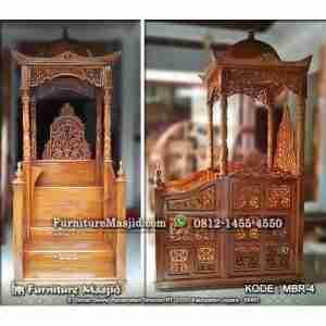 Harga Mimbar Masjid Atap Kubah Murah