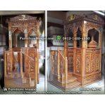 Mimbar Masjid Tangga Samping