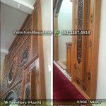 Kaligrafi Pengimaman Masjid Kayu Jati