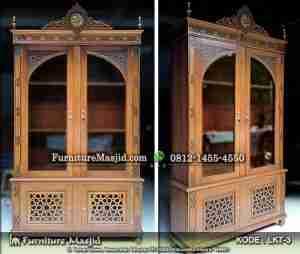 Lemari Al-qur'an Untuk Masjid & Mushola