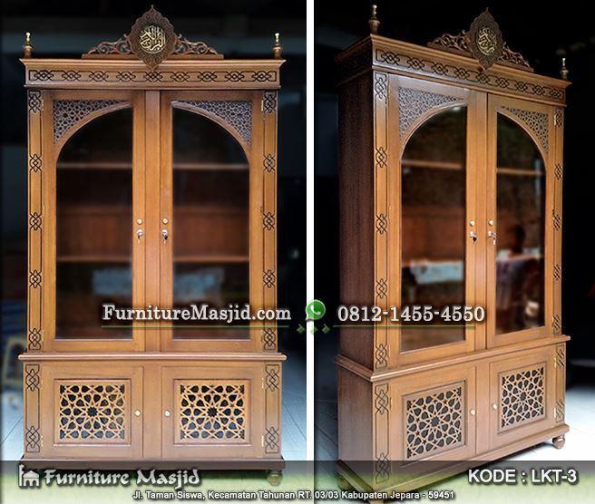 lemari alquran untuk masjid & mushola