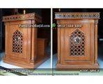 Podium Masjid Minimalis Arabic Terbaru