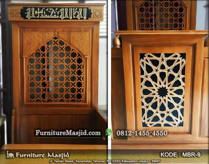 mimbar masjid minimalis termurah