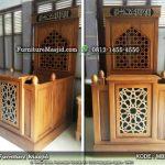 Mimbar Masjid Sederhana dan Minimalis