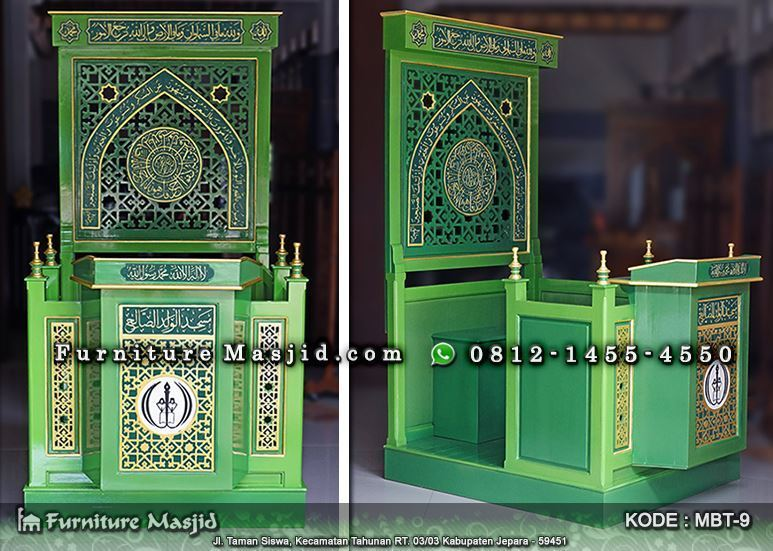 Perpaduan Warna Cat Lisplang  cat masjid warna hijau laco blog