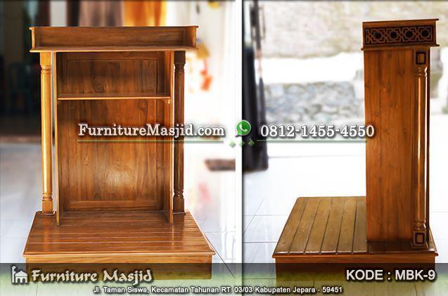 podium masjid minimalis ukuran kecil