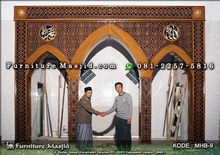 jasa pembuatan mihrab masjid