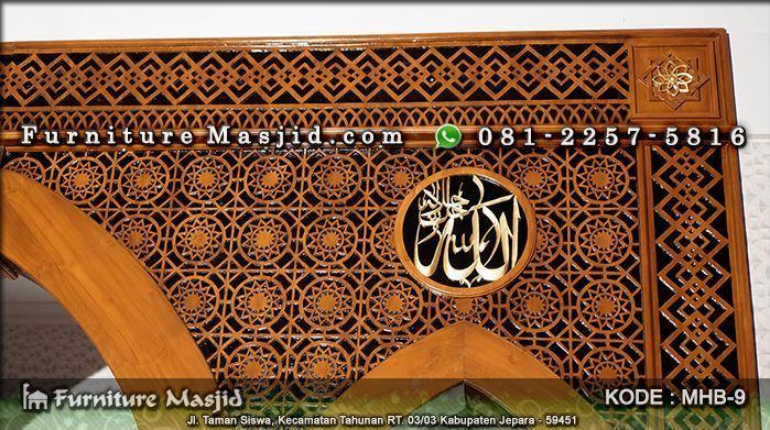 model mihrab masjid