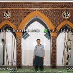 tukang ahli mihrab masjid