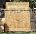Replika Pintu Masjid Nabawi Kayu Jati TPK