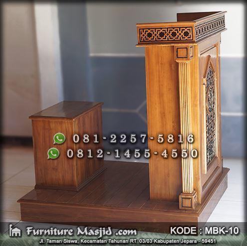 mimbar masjid minimalis model terbaru