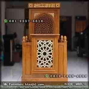 Mimbar Masjid Minimalis Sederhana