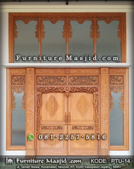 gebyok pintu masjid model terbaru