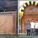 Model Pintu Masjid Modern Desain Terbaru