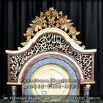 Lemari Jam Hias Masjid Kaligrafi Syahadat
