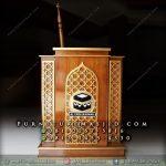 Podium Masjid Minimalis Logo Kabah