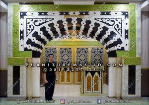 Replika Mihrab Masjid Nabawi Mewah