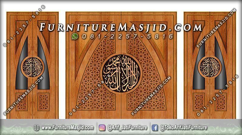 Desain Pintu Masjid Minimalis