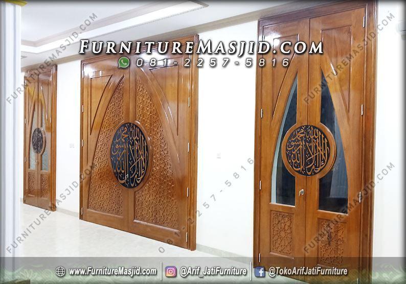 Model Pintu Masjid Minimalis Modern